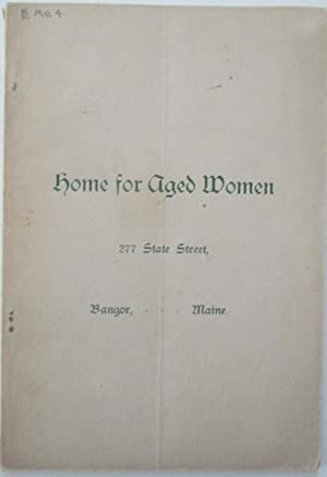 No author given. Home for Aged Women.: No author given.