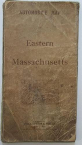 Automobile Map of Eastern Massachusetts.: No author Given