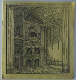 Theater Program for the First Week of the Annual Boston Engagement of DeWolf Hopper and his Merry ...