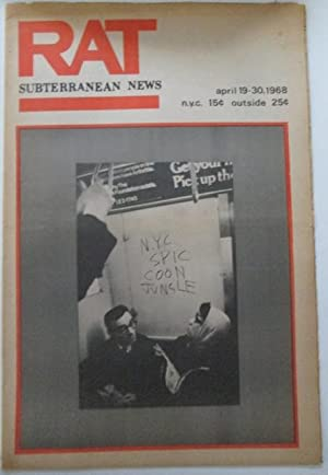 RAT Subterranean News. April 19-30. 1968: Shero, Jeff et