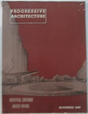 Progressive Architecture. Pencil Points. November 1946.: Kahn, Louis I;