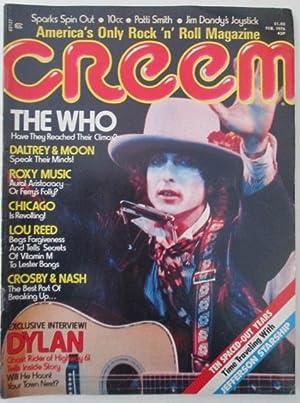 Creem. February 1976: Bangs, Lester et
