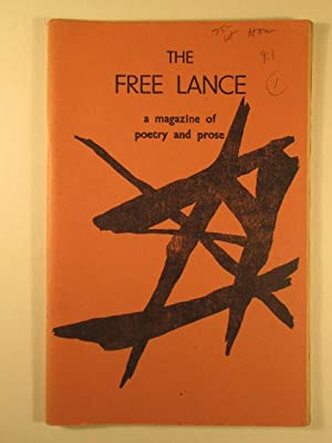 The Free Lance. A Magazine of poetry and prose. Volume 9, Number 1: Levy, d.a.; Major, Clarence et ...