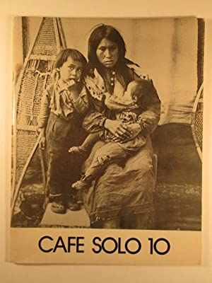 Café Solo 10. Indian Summer 1977 Issue: Snyder, Gary; Ferlinghetti,
