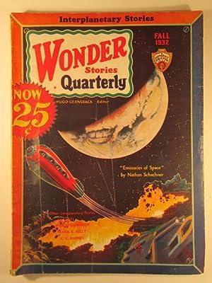 Wonder Stories Quarterly. Fall 1932. Vol. 4. No 1: Williamson, Jack; Kelly, Frank K.; Barnes, A.K.;...