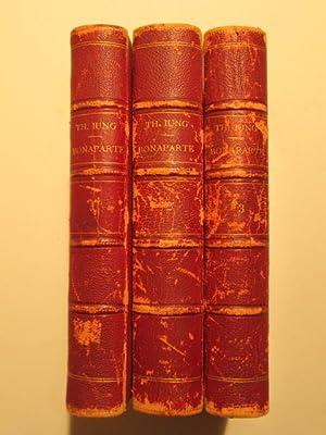 Bonaparte et Son Temps 1769-1799. D'Apres Les Documents Inedits par Th. Iung. Three Volumes: ...