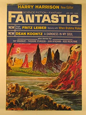 Fantastic Science Fiction Fantasy. January 1968. Vol.: Bradbury, Ray; Koontz,
