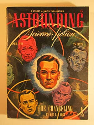 Astounding Science Fiction. April 1944. Vol XXXIII No. 2.: Simak, Clifford; van Vogt, A.E.; Lieber,...