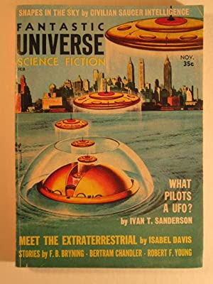 Fantastic Universe Science Fiction. November, 1957. Vol. 8, No. 5: Sanderson, Ivan; Chandler, ...
