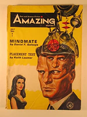 A Game of Unchance in Amazing Stories. July 1964. Vol. 38., No. 7: Dick, Philip K. et al