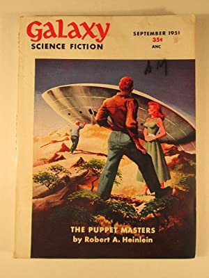 The Puppet Masters, Part I and II in Galaxy Science Fiction. September and October, 1951: Heinlein,...