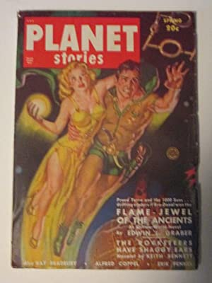 Planet Stories. Spring 1950. Vol 4. No. 6.: Bradbury, Ray; Graber, Edwin L.; Coppel, Alfred; Fennel...