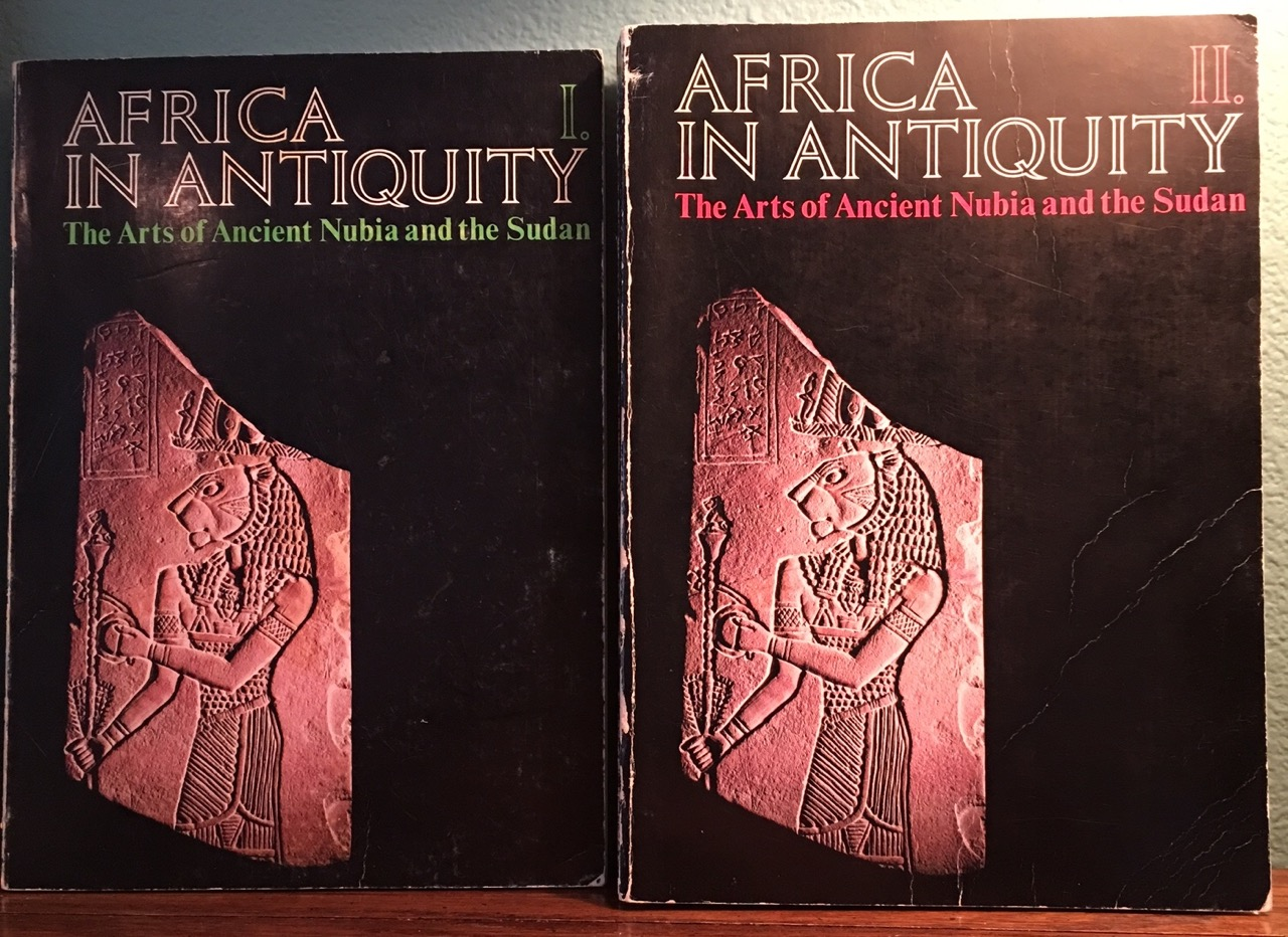Africa_in_Antiquity_The_Arts_of_Ancient_Nubia_and_the_Sudan_2_volumes_complete_set_AAC__Catalogue_exhibition_Bon_Couverture_rigide
