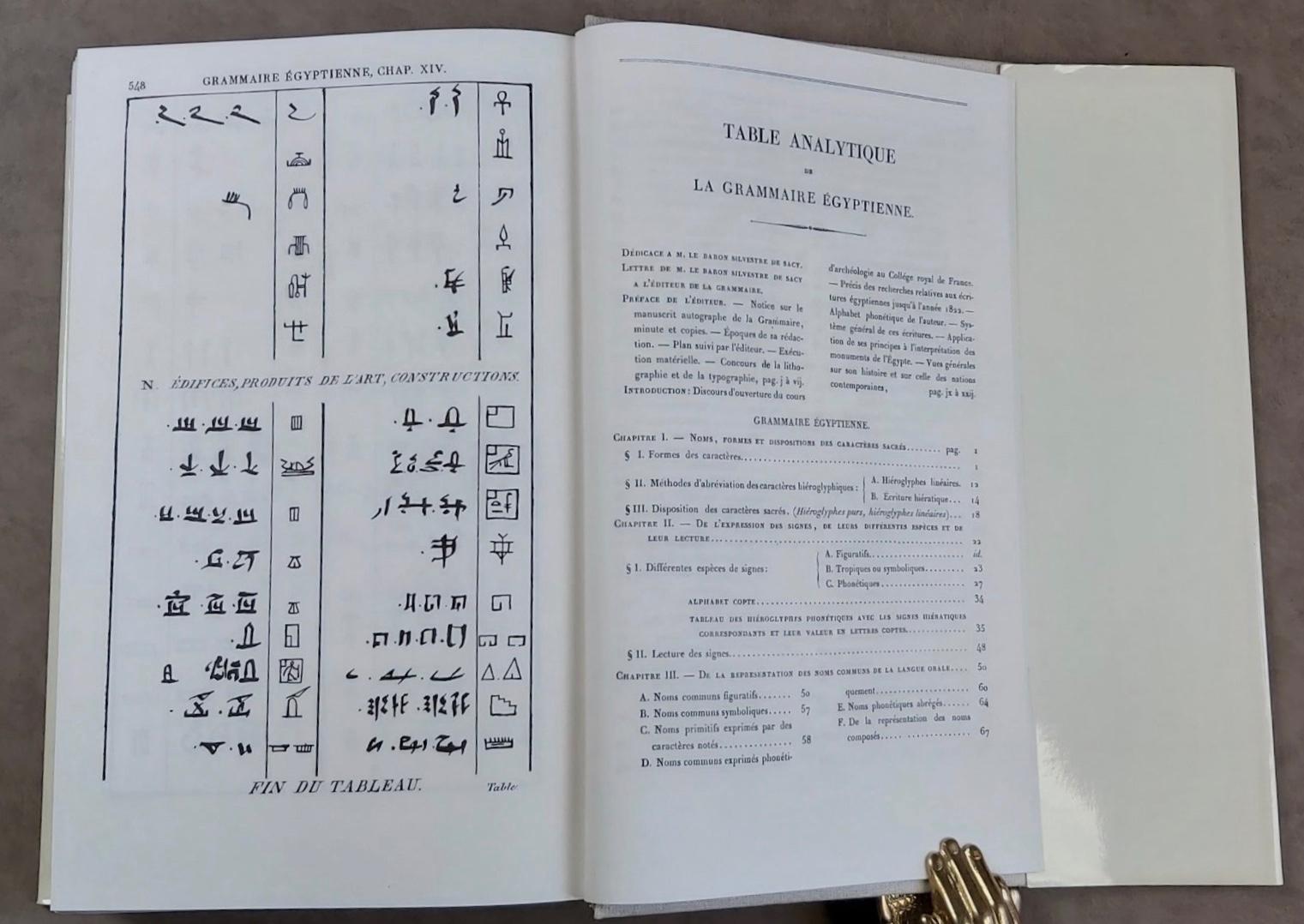grammaire  u00e9gyptienne  ou principes g u00e9n u00e9raux de l u0026 39  u00e9criture