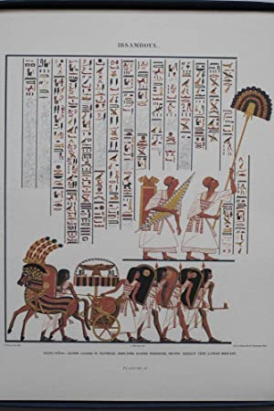 Monuments de l'Egypte et de la Nubie: CHAMPOLLION Jean-Francois