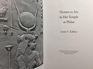 Hymns to Isis in Her Temple at: ZABKAR L.V.