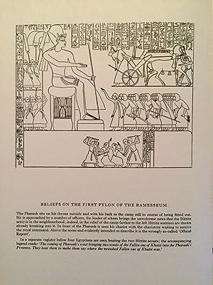 The Kadesh inscription of Ramesses II: GARDINER Alan Henderson