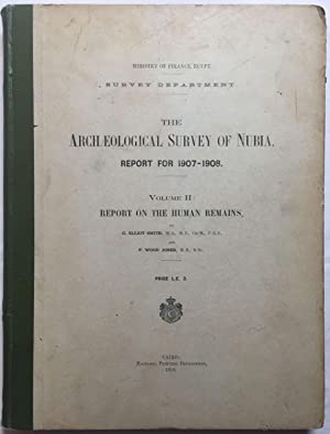 The archaeological survey of Nubia. Report for: SMITH Grafton Elliot