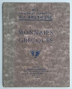 Monnaies Grecques (en vente aux pris marqués: CIANI Louis (en