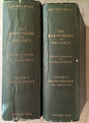 The Book of Paradise. Vol. I: English: BUDGE Ernest Alfred
