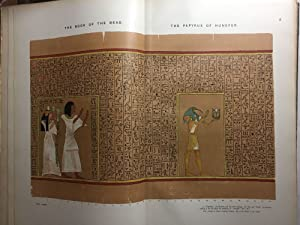 The book of the dead. Facsimiles of: BUDGE Ernest Alfred