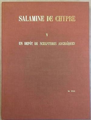 Salamine de Chypre. V: Un dépôt de: YON Marguerite