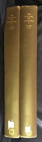 The mastaba of Mereruka. Vol. I &: Chicago Institute -