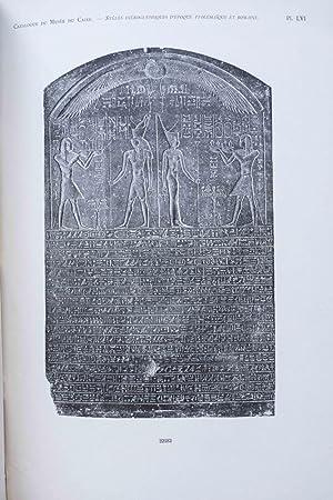 Stèles ptolémaïques et romaines (Catalogue Général du: KAMAL Ahmed Bey