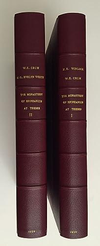 The monastery of Epiphanius at Thebes. Vol.: WINLOCK Herbert E.