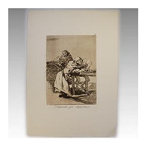 LOS CAPRICHOS Nº 78 - DESPACHA QUE DISPIERTAN: Francisco de Goya y Lucientes (Fuendetodos, ...