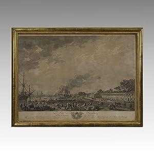 LE PORT DE ROCHEFORT. VU DU MAGASIN DES COLONIES.: VERNET, Joseph (1714-1789)