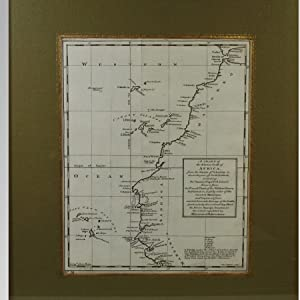 A CHART OF THE WESTERN COAST OF AFRICA, FROM THE STRAITS OF GIBRALTAR TO ELEVEN DEGREES OF NORTH ...