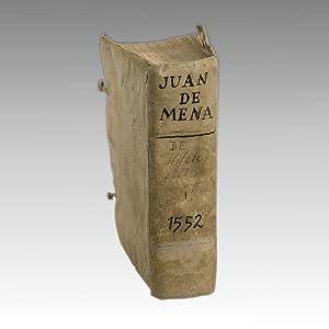 TODAS LAS OBRAS DEL FAMOSISSIMO POETA IUAN: MENA, Juan de