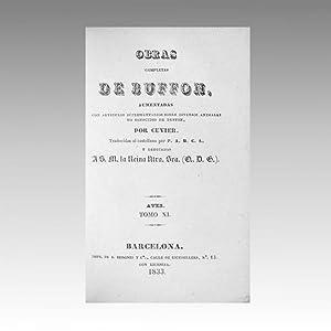 OBRAS COMPLETAS DE BUFFON (vol. 41): BUFFON, Georges-Louis Leclerc
