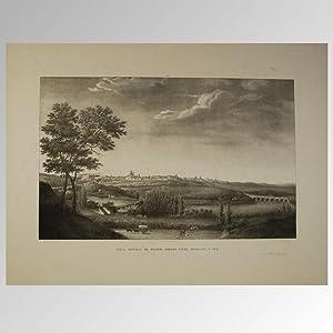 VISTA GENERAL DE MADRID, TOMADA ENTRE PONIENTE: BRAMBILLA, Fernando 1763-1834