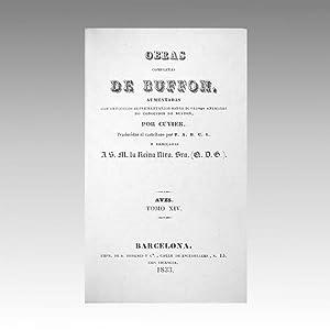 OBRAS COMPLETAS DE BUFFON (vol. 44): BUFFON, Georges-Louis Leclerc