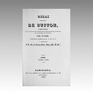 OBRAS COMPLETAS DE BUFFON (vol. 47): BUFFON, Georges-Louis Leclerc