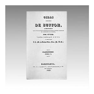 OBRAS COMPLETAS DE BUFFON (vol. 42): BUFFON, Georges-Louis Leclerc