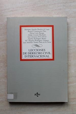 Lecciones de derecho civil internacional: AAVV