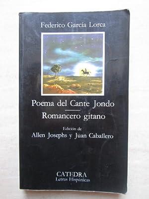 Poema del cante jondo - Romancero gitano: Federico García Lorca