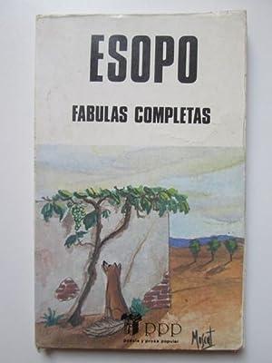 Fábulas completas: Esopo