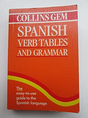 Collins Gem Span Verb Tables