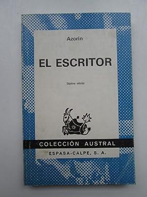 El escritor: Azorin