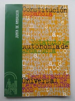 Constitución Española - Estatuto de autonomía de