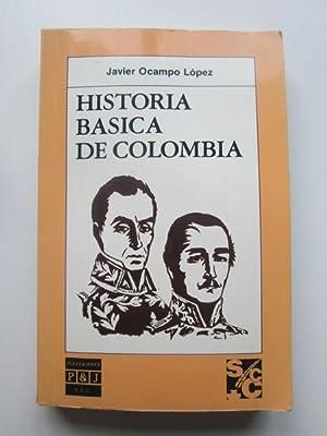 Historia básica de Colombia: Ocampo Lopez, Javier