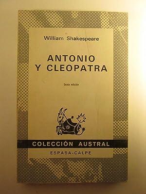 Antonio Y Cleopatra: William Shakespeare; Luis