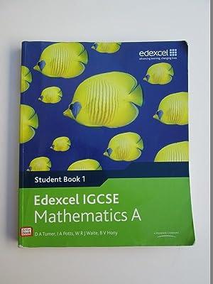 Igcse For Edexcel Maths Book 1: D.A. Turner