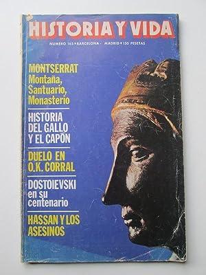 Historia y Vida Nº 165 Montserrat Montaña,