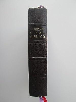 Misal Bíblico: P. Luis Ribera,