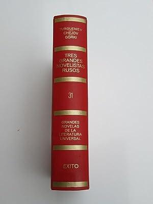 Tres Grandes Novelistas Rusos (Nido de Hidalgos,: Ivan Turgueniev, Antón